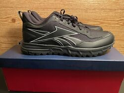Reebok Back To Trail Black Cushioned Shoes Mens Size 12.5 FW6720 $34.89