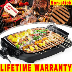 Smokeless Electric Indoor Grill Nonstick amp; Portable amp; Removable As Seen on TV $61.10