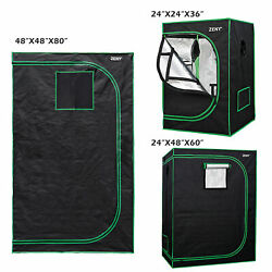 Durable Box Seed Hydroponics Grow Tent w Window Indoor Horticulture for Plant $76.98