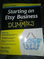 📙Starting an Etsy Business: for Dummies $9.99