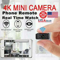 Mini IP Wireless Wifi Home Security Small Camera HD 4K DVR Night Vision Hidden $37.69