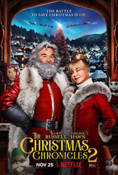 Christmas Chronicles 2 DVD 2020 BRAND NEW FREE SHIPPING WITH TRACKING $19.95