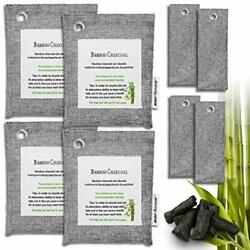 Air Purifying Bag Purifier Nature Fresh Charcoal Bamboo Mold Freshener 8 Bags $22.07
