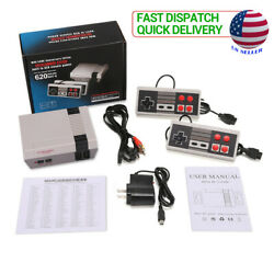 Classic 620 Games Built in Mini Retro Home TV Game Console 2 Controller Gift US $22.99