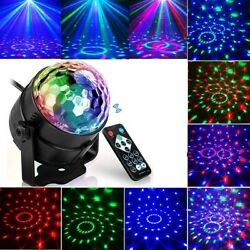 LED Galaxy Starry Night Light Projector Ocean Star Sky Ball Light w Remote Party $12.99