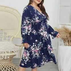 Sundress Party Long Dress Women#x27;s Dresses Fashion Cocktail Casual Plus Size $21.57