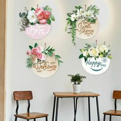 Wall Stickers Flowers Decals Bedroom Kitchen House Living Room Vinyl Decoration $29.98