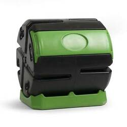 Hot Frog 37 Gal. Recycled Plastic Compost Tumbler Black amp; Green $100.00