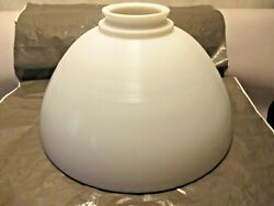 VINTAGE 10quot; MILK GLASS TORCHIERE LAMP SHADE $22.00