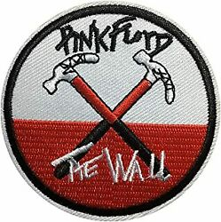 THE WALL Easy Sew Iron ON PINK FLOYD MEMORABILIA MUSIC Patch FREE SHIP $4.99