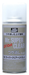 Mr. Super Clear UV Cut Flat Spray $14.82
