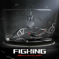 RC Helicopter Remote Control Military Aircraft Drones Kids Toy Gift Quadrocopter $49.89