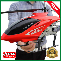 3.5CH 80cm Super Large Helicopter Remote Control Aircraft Anti Fall Rc Helicopte $65.99