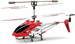 Remote Control Helicopter 3 Channel Mini RC Crash Proof Alloy Frame LED Lights $33.99