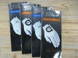 BRAND NEW CLOSEOUT TITLEIST GOLF GLOVES PLAYERS AND PERMASOFT CHOOSE SIZE $15.00