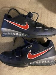 Mens 15 NIKE ROMALEOS 2 WEIGHTLIFTING SHOES 476927 460 $70.00