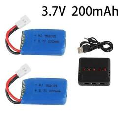 3.7v 200mah Lipo Battery For RC Drone Syma car Boat plane toy Rechargeable he $21.99