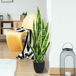 3ft Artificial Snake Plant Decorative for Indoors and Outdoors $61.99
