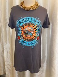 Sublime Long Beach gray vintage amp; retro style shirt t shirt size Large $14.99