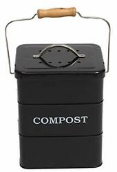 ayacatz Stainless Steel Compost Bin for Kitchen Countertop Compost Bin,1 Gallon $35.48