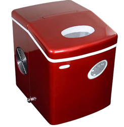 NewAir Portable Ice Maker 28 lb. Daily Countertop Compact Design 3 Size Bull $75.00