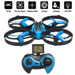 RCtown Mini RC Drone 2.4G 4 Ch 360° Altitude Hold micro Quadcopter 6 Axis Gyro $13.99