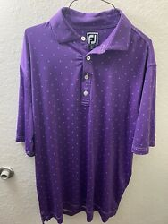 footjoy mens golf polo shirt size large $16.00