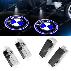 4x LED Lights For BMW Door Light Logo Welcome Courtesy Projector Ghost Shadow