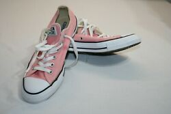 Vintage Converse All Star Womens 9 Mens 7 Pink Sneaker Tennis Shoes $24.99
