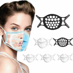 10 x 3D Face Mask Bracket Mouth Separate Inner Stand Soft Silicone Holder Frame $8.97