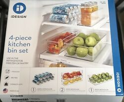 iDesign Kitchen Bin Set 4pcs $35.00