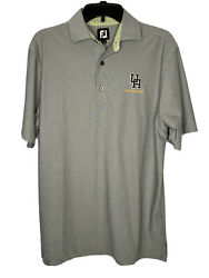 Footjoy Golf Polo Shirt Mens Small Grey Foot Joy FJ $12.44