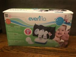 Evenflo Deluxe Advanced Double Electric Breast Pump w Travel Bag amp; Cooler 937509 $40.00