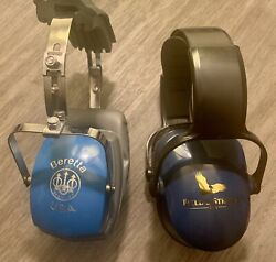 BERETTA USA Shooting Hearing Protection BLUE amp; Field amp; Stream Blue Ear Guards $12.50