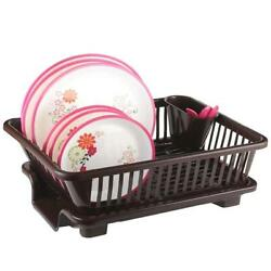 3 in 1 Kitchen Sink Dish Drainer Drying Rack Multi Kitchen Sink Dish Plate Drain $42.99