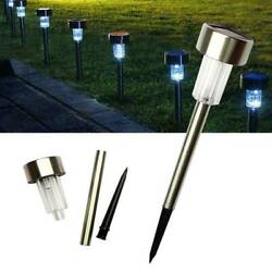 24pcs High Brightness LED Garden Lawn Lamps Solar Power Outdoor Yard Solar Light $64.99