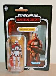 Star Wars TVC 3.75quot; Action Figure THE MANDALORIAN INCINERATOR TROOPER In HAND $29.99