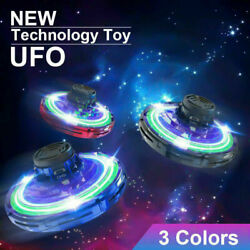 Mini Drone Quad Induction Levitation UFO Flying Toy Hand Controlled $13.99