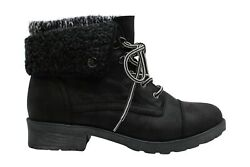 White Mountain Women#x27;s Shoes Boots Black Size 8.5 F5Ug $25.48