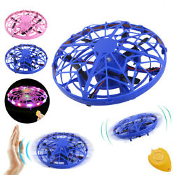 360° Mini Drone Smart UFO Aircraft for Kids Flying Toys RC Hand Control Xmas $15.69