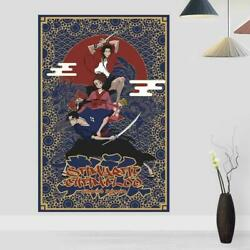 Samurai Champloo Anime poster Glossy Poster Home Wall Room Decor No Frame Gift $14.99