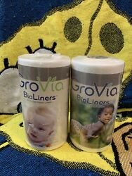 2 Grovia Bio Liners All Natural Baby Liners 200ct $20.00