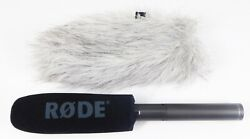 Rode NTG 2 Multi Powered Shotgun Microphone w Foam amp; Deadcat Windscreen $159.99