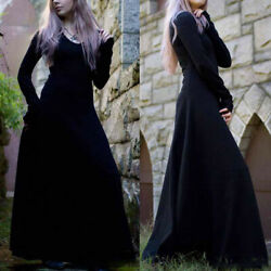 Medieval Victorian Gothic Dress Palace Halloween Vampire Witch Cosplay Costume