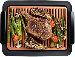 Gotham Steel Smokeless Electric Indoor Grill Nonstick amp; Portable As Seen on TV $48.99