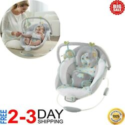 Baby Cradling Bouncer Musical Vibration Rocker Seat Infant Toddler Chair Swing $49.99