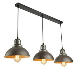 Farmhouse Rustic Dome Shade Pendant Lamp Island Chandelier Ceiling Light Fixture $129.00