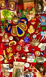 Vintage Modern Eclectic Brooch Pin Jewelry Lot Disney ART Jewelrama House Lucind $58.00