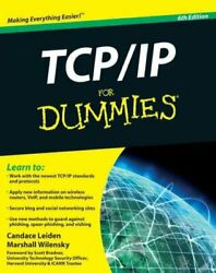 TCP IP for Dummies Paperback by Leiden Candace; Wilensky Marshall; Bradner... $6.94