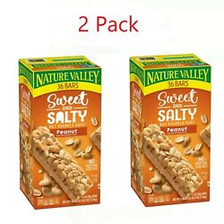 2 Pack Nature Valley Sweet and Salty Nut Granola Bars Peanut Snack Bars 72 ct. $29.94